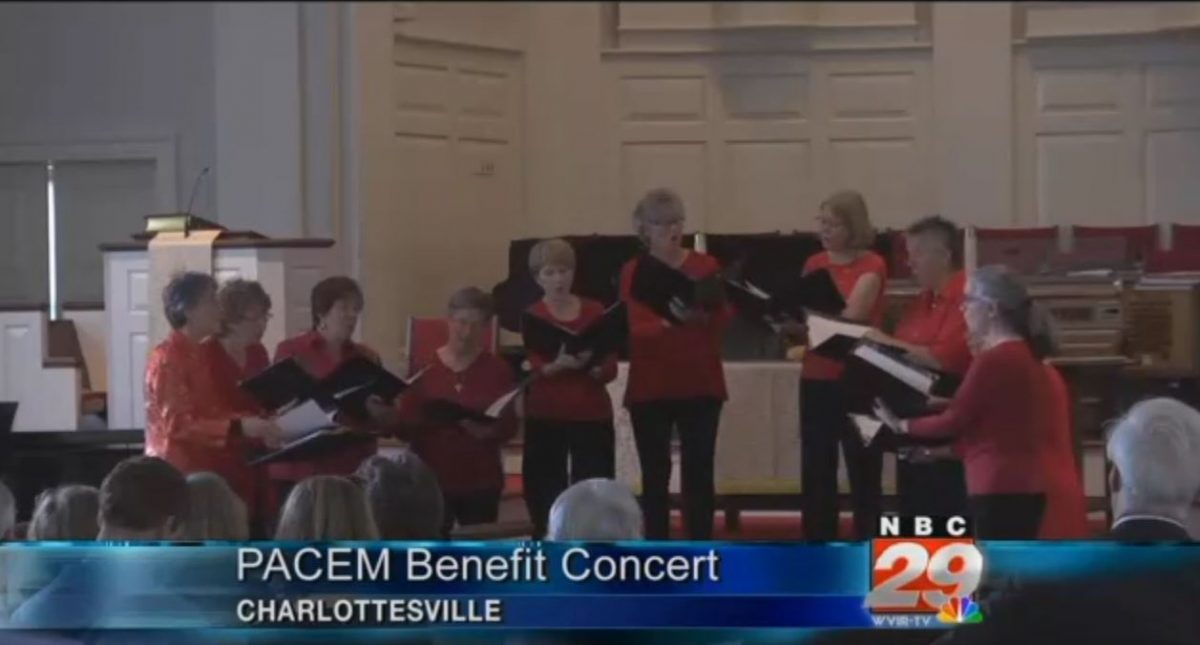 Women's Group Fire Performs Concert to Benefit Homeless Charity