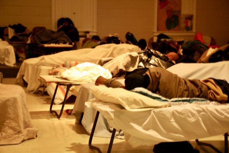 Sheltering the Homeless From Winter Nights