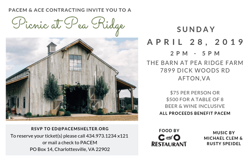 Join us on April 28th for our annual Spring picnic